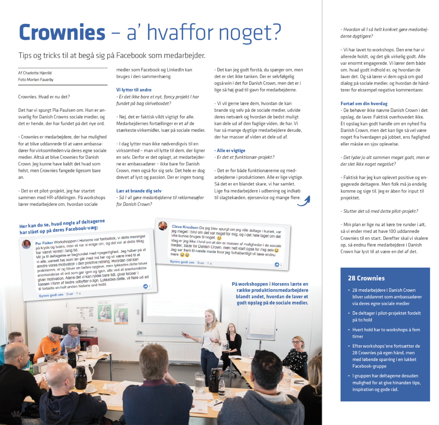 Employee advocacy - Danish Crown